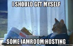 High Powered Jamroom Hosting - coming soon!