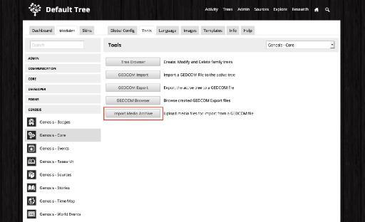 Step 1: Upload your Family Tree Maker media files