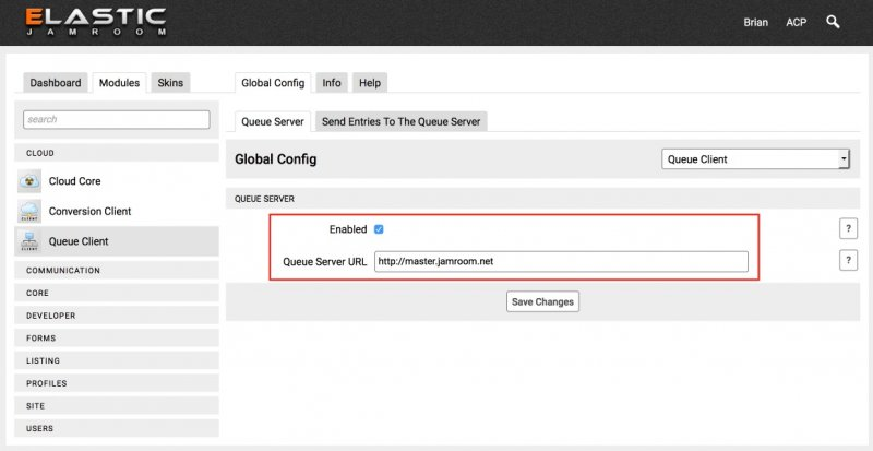 Configure the Queue Client