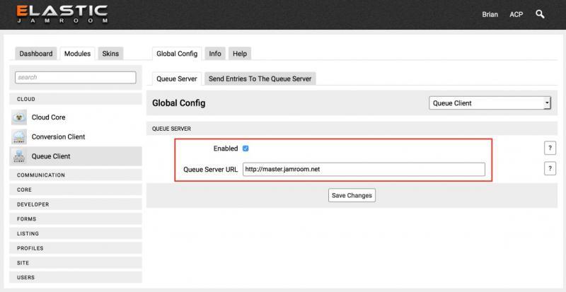 Configure the Queue Client