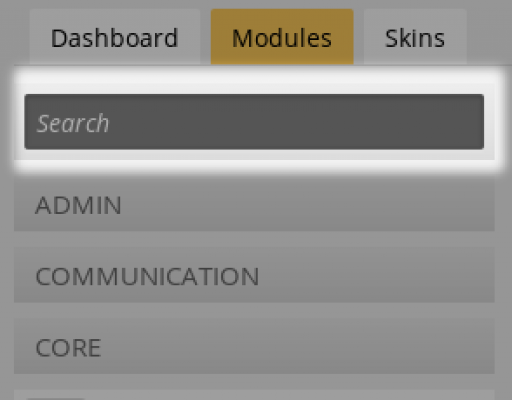 Module Search